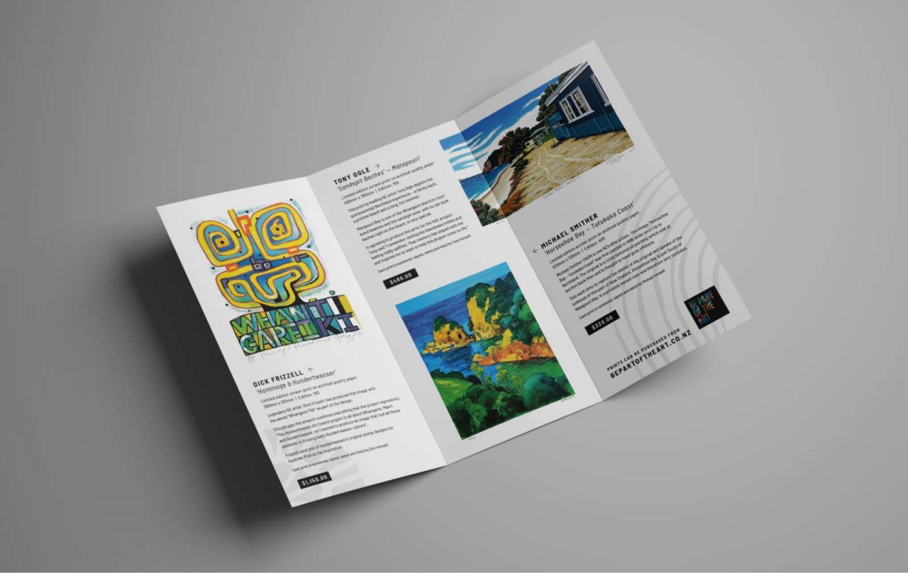 Be Part of the Art brochure