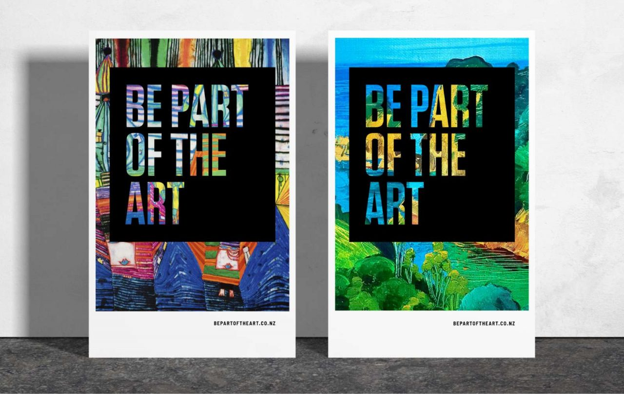 Be Part of the Art posters