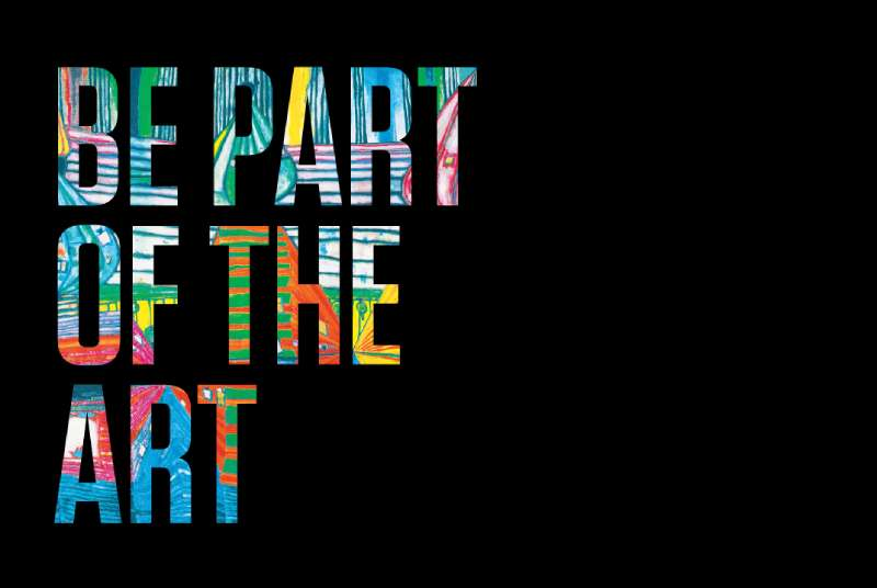 Be Part of the Art logo