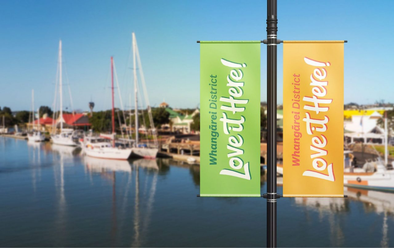 Whangarei District - Love it Here Flags