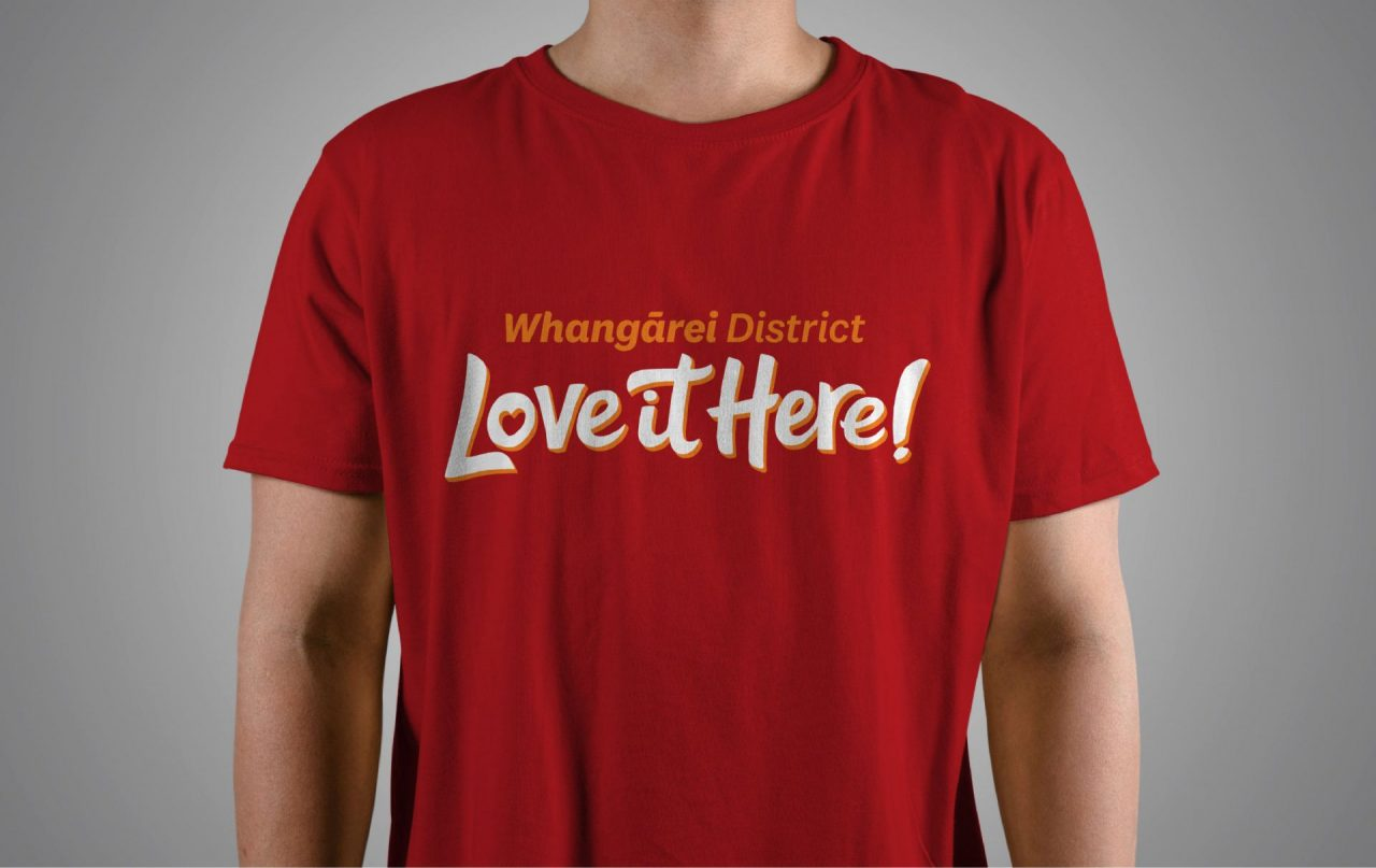 Whangarei District - Love it Here T-shirts