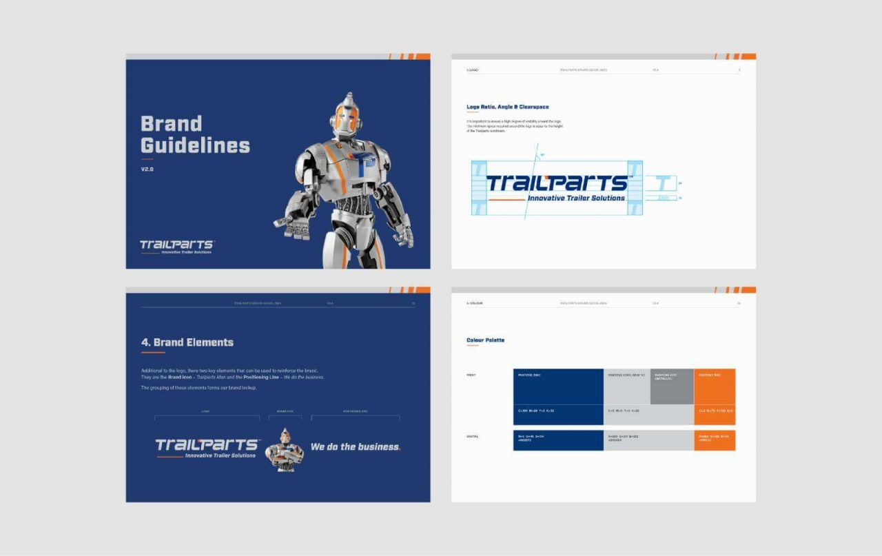 Trailparts brand guidelines