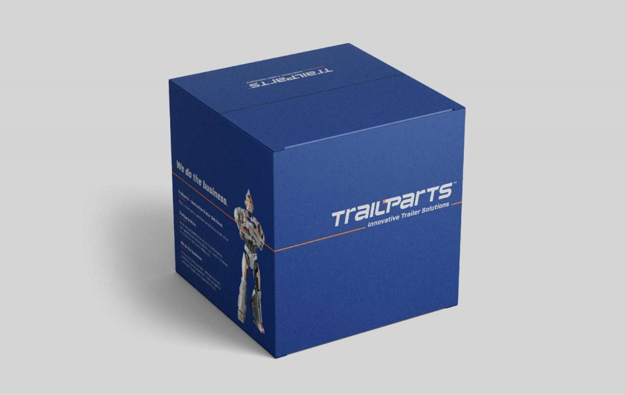 Trailparts packaging