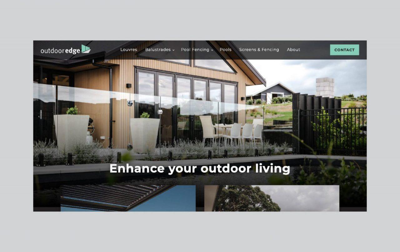 Screenshot of the Outdoor Edge website