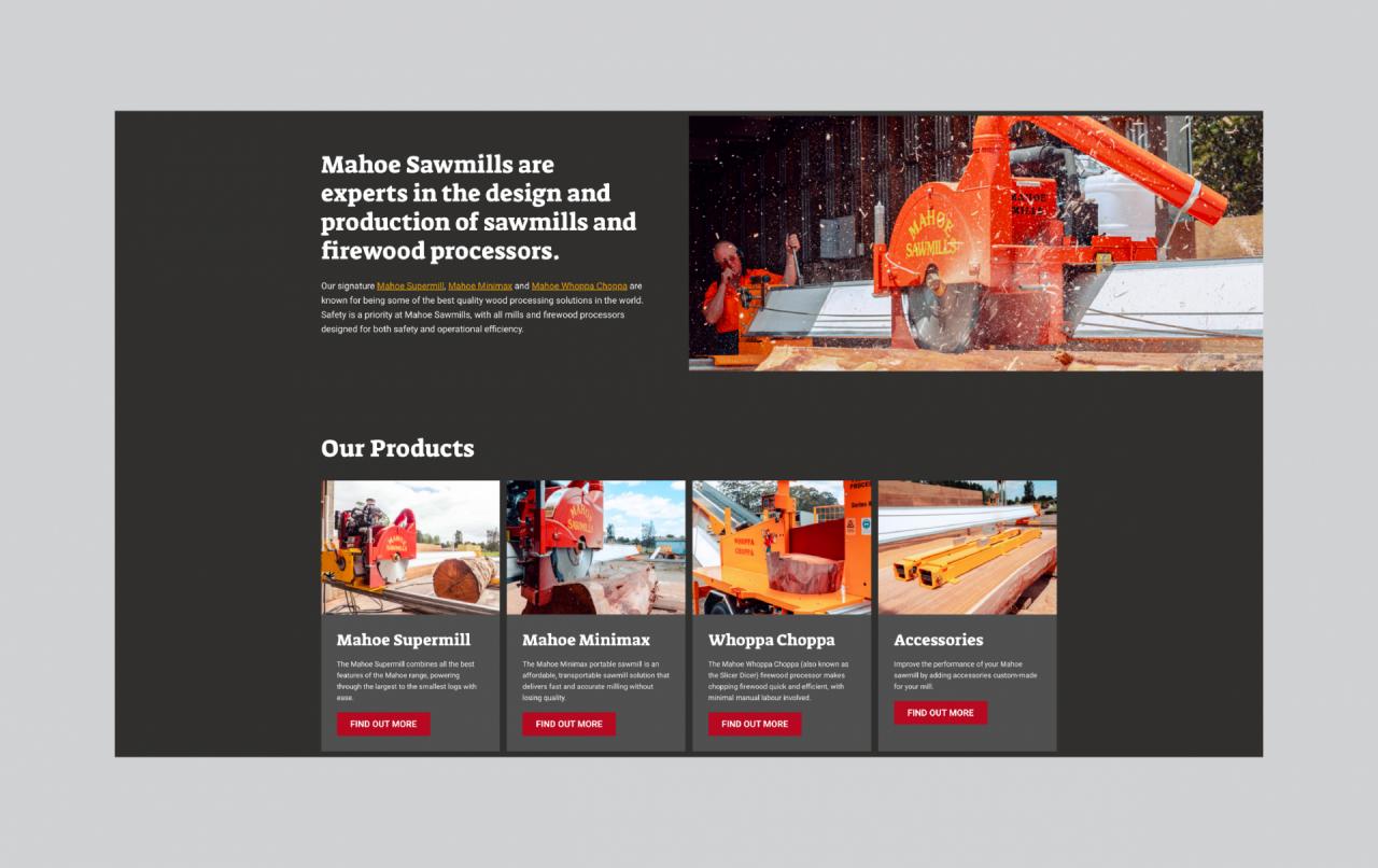 Mahoe Sawmills - Gallery Image